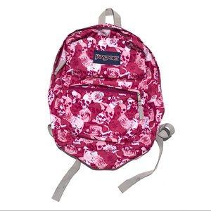 Skull Jansport backpack